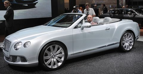 Bentley-Continental-GTC in Bentley erholt sich wieder